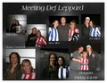 Meeting Def Leppard - def-leppard fan art