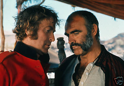 Michael Caine And Sean Connery Rare Photo - michael-caine Photo