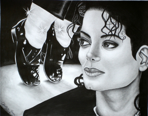 Michael Jackson drawing!
