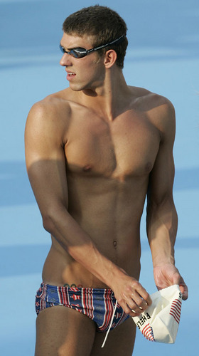 Michael Phelps - swimming Photo