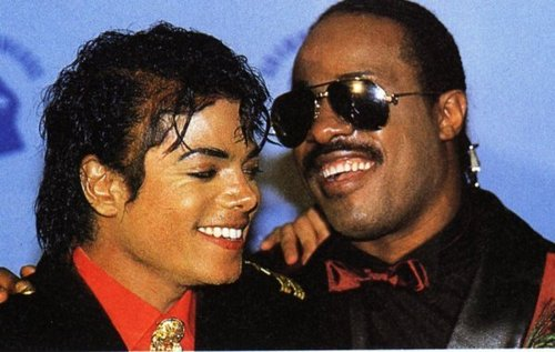 Michael with vrienden