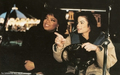 Michael with friends  - michael-jackson photo