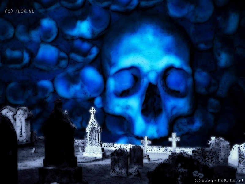 graveyard wallpaper. Midnight Graveyard