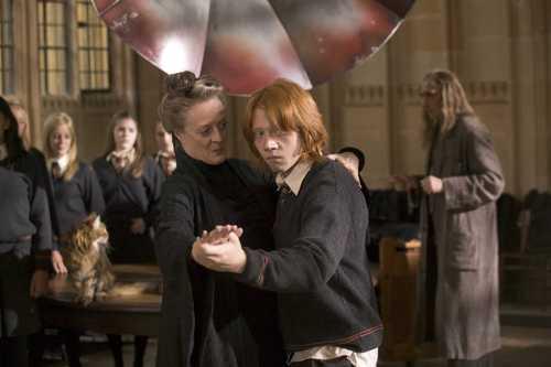 Minerva McGonagall&Ron Weasley - HP:GoF