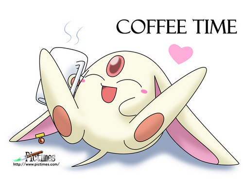Mokona Coffee Time - tsubasa-reservoir-chronicles Wallpaper