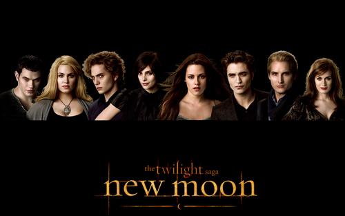 Twilight Series wallpaper entitled New Moon