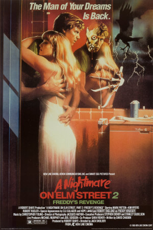 Nightmare on Elm rue 2: Alternate Movie Poster