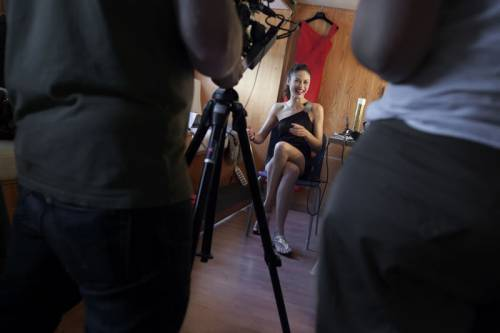 Olga - Campari behind the scenes