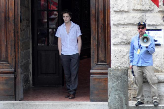 On set in Montepulciano, old but new pics?