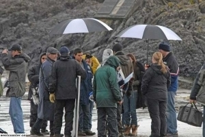 On the set of New Moon
