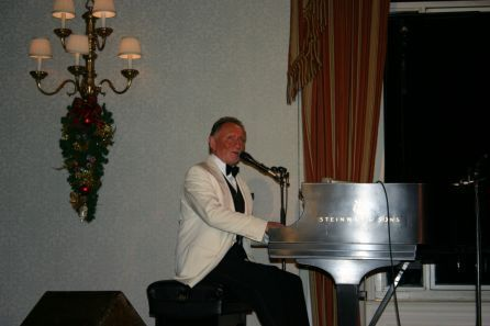 Phil Coulter playing the Piano