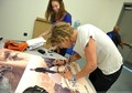 Photos of Jamie Bower at Comic Con  - twilight-series photo