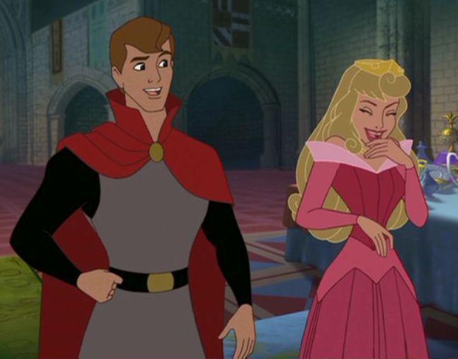 Princess Aurora and Prince Philip