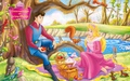 disney-couples - Princess Aurora and Prince Philip  wallpaper