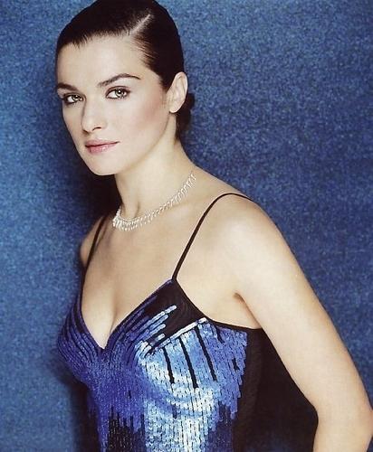 Rachel Weisz in Blue Sequins