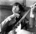 Ringo (yes Ringo) and John Lennon's guitar