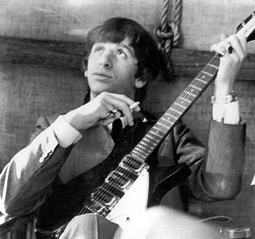 The Beatles Images Ringo Yes And John Lennons Guitar Wallpaper Background Photos