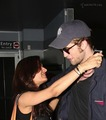 Rob and a fan HUGGED him! OMG! I am pretty jelous - twilight-series photo