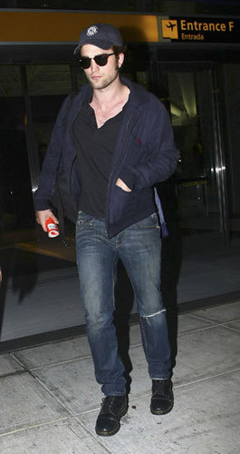 Rob at the airport