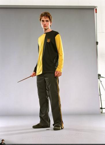 Robert Pattinson as Cedric