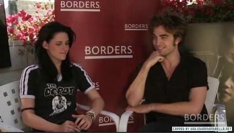 Robsten in borders.com interview