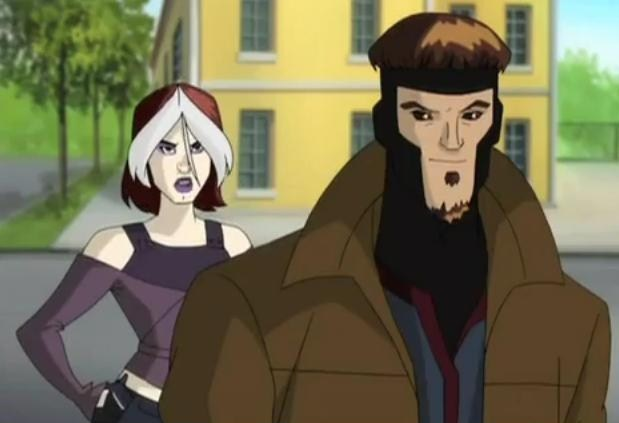 Rogue and Gambit x men evolution 7323675 619 423 SuperMegaPost X men Evolucion (Personajes)