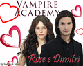 Rose and Dimitri - vampire-academy wallpaper