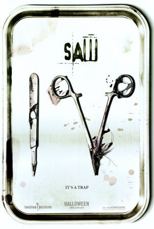 Saw 4 Alternative Movie Poster