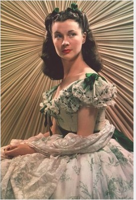 Gone with the Wind wallpaper probably with a polonaise called Scarlett
