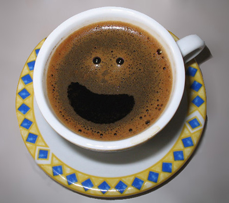 Smiling Coffee !