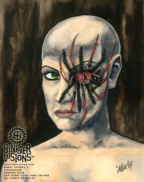 spiders on the brain horror movies photo 7327688 fanpop