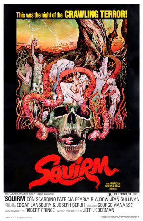 Squirm official movie poster