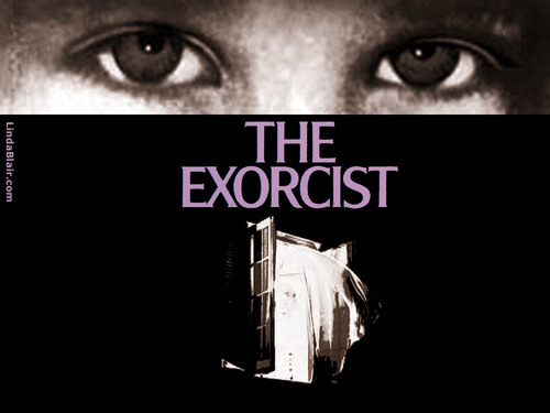 films d'horreur fond d'écran possibly with animé called The Exorcist fond d'écran 1