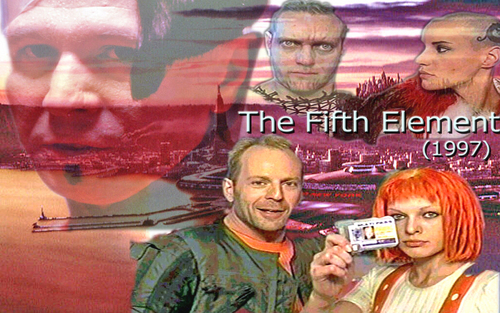 The Fifth Element দেওয়ালপত্র entitled The Fifth Element