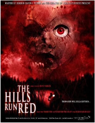 The Hills Run Red Movie Poster