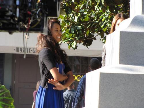 The Vampire Diaries - Set चित्रो