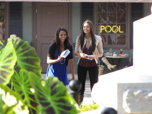 The Vampire Diaries - Set Fotos