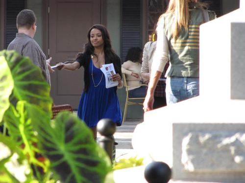 The Vampire Diaries - Set picha