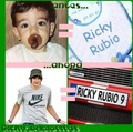Then and Now - ricky-rubio fan art