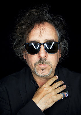Tim Burton ~ Comic Con 2009 Portrait