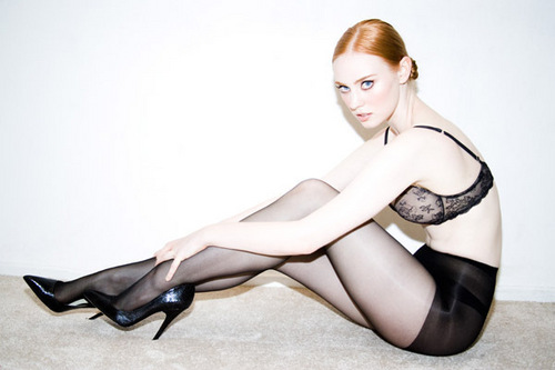 Deborah Ann Woll fondo de pantalla probably containing bare legs, hosiery, and tights titled Tyler Shields Photoshoot