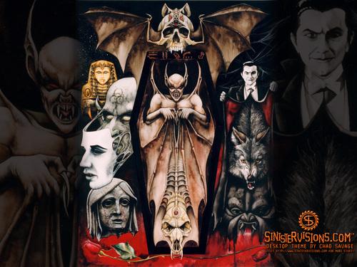Vampire's 巢穴, den, 书房