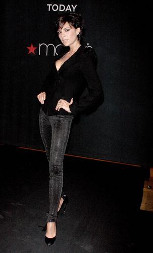 Victoria Beckham reveals her new Emporio Armani Women's Underwear campaign