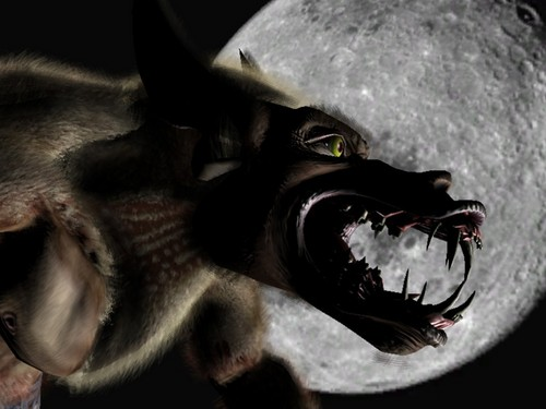 Werewolves wallpaper with a triceratops entitled Werewolf