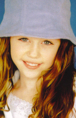 miley cyrus younger
