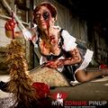 Zombie Pin Ups