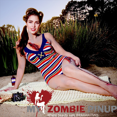Zombie Pinups