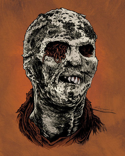 Zombie movie Art