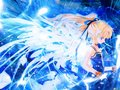blue angel - anime-angels wallpaper