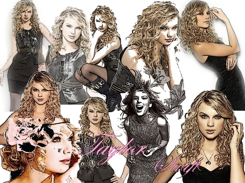 cartoon taylor - taylor-swift Wallpaper